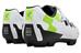 Cube MTB CMPT Schuhe Unisex white'n'green'n'black